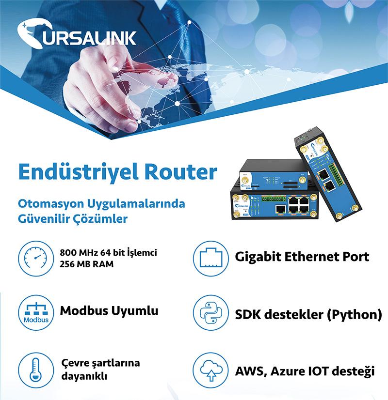 Endüstriyel VPN Router