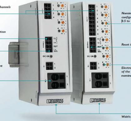 IO Link Özellikli Elektronik Devre Kesici