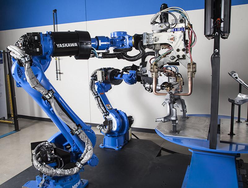 Yaskawa robot gazaltı kaynak