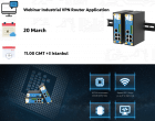 Webinar | Industrial VPN Router Application in Industry