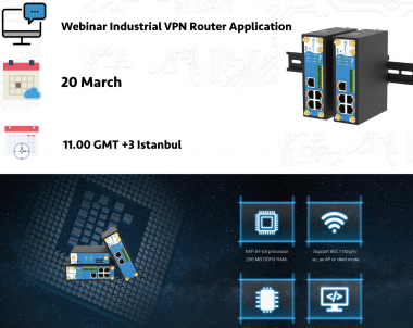 Webinar | Industrial VPN Router Application in Industry