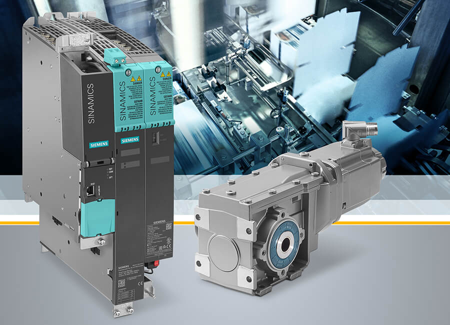 Siemens erweitert sein umfassendes Antriebsportfolio für Servoapplikationen um den Servogetriebemotor Simotics S-1FG1, der passgenau auf das Umrichtersystem Sinamics S120 abgestimmt ist. Die durchgängige Einbindung dieses Antriebssystems in Totally Integrated Automation (TIA) erlaubt eine einfache Projektierung und Inbetriebnahme